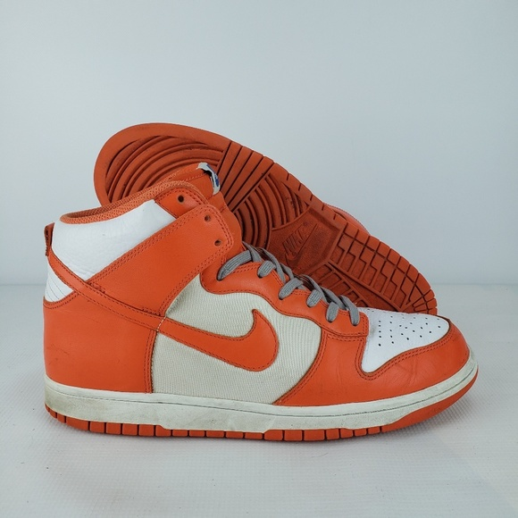 Nike Dunk High Retro Qs Syracuse Orange